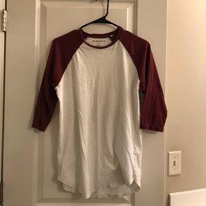 A Bundle of 4 Scallop fit Pacsun Shirts